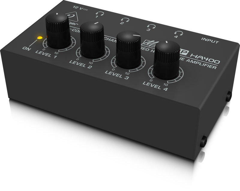 behringer microamp ha400 headphone amplifier mackay music mackay music music shop mackay. Black Bedroom Furniture Sets. Home Design Ideas